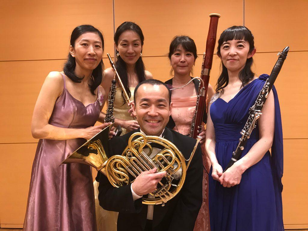 サロンコンサート「木管五重奏DUHA(ドゥハ)演奏会」