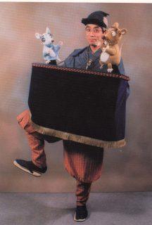 NPO法人宇土の文化を考える市民の会プレゼンツ事業「肩掛け人形芝居 ねずみのすもう」(燕屋)7月開催♪